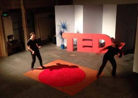 Video of John Livingston and Sarah Gordy Dancing at TEDx